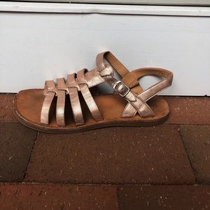 52101eb257cb Pom D Api Shoes - Girls Pom D Api Rose Gold Sandals